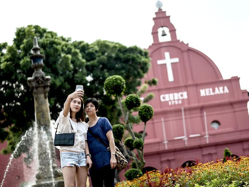 Malacca was declared a UNESCO world heritage city in 2008. (AFP)