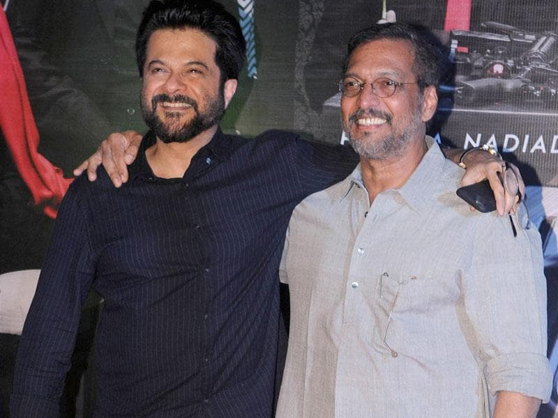 Anil Kapoor and Nana Patekar play Majnu Bhai and Uday Shetty in Welcome Back. (AFP Photo)