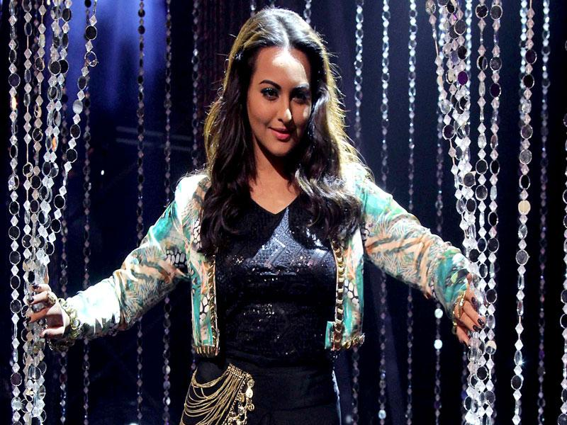 Sonakshi Sinha performs at the grand finale of Indian Idol Junior 2 that will be aired on Sunday evening. (AFP Photo)