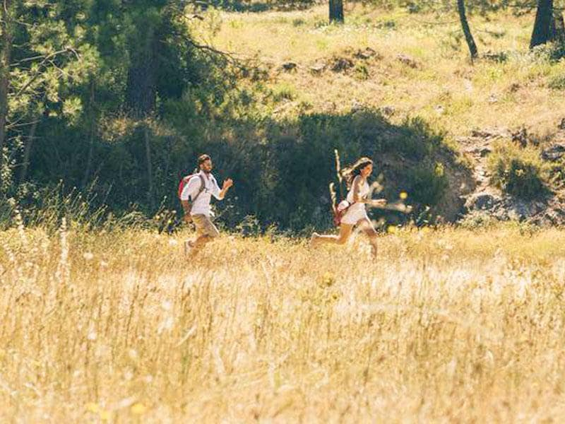 Ranbir Kapoor and Deepika Padukone in a still from Imtiaz Ali's Tamasha.
