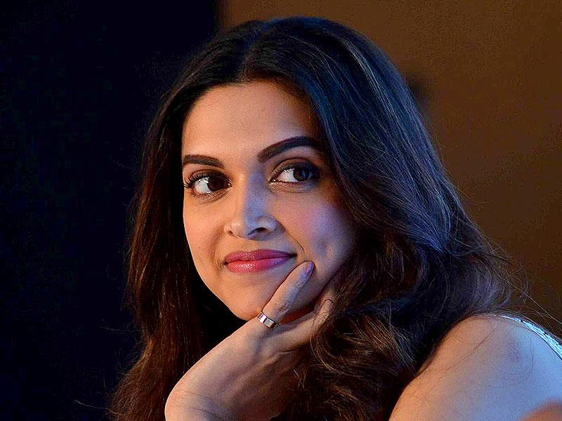 Bollywood actor Deepika Padukone during the launch a mobile app in Mumbai. (IANS Photo)