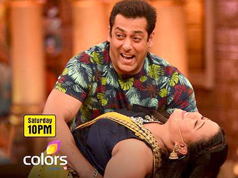 Bharti Singh clearly had the time of her life when Salman Khan visited the sets of Comedy Nights Bachao.