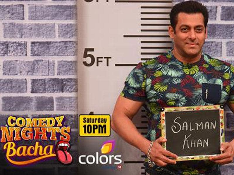 Gear up to watch Salman Khan who will join entertainers on the Saturday (Sept 12) episode of Comedy Nights Bachao.