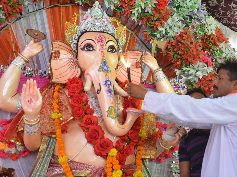 Ganesh Chaturthi is also known as Vinayka Chaturthi. HT/Photo