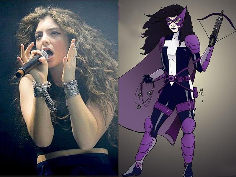 Lorde has been reimagined as Huntress.