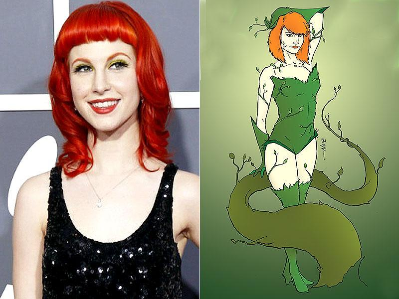 Hayley Williams as Poison Ivy.