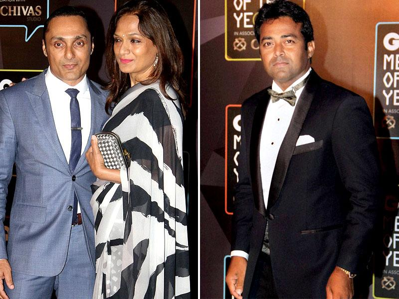 Actor Rahul Bose was adjudged the 'Philanthropist of the Year, while Indian tennis legend Leander Paes was given the  'Sporting Legend' of the year award.  (IANS/AP)