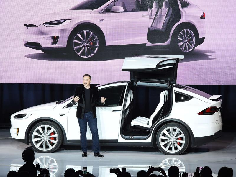 Tesla s x factor autos car photos hindustan times for How much are car motors