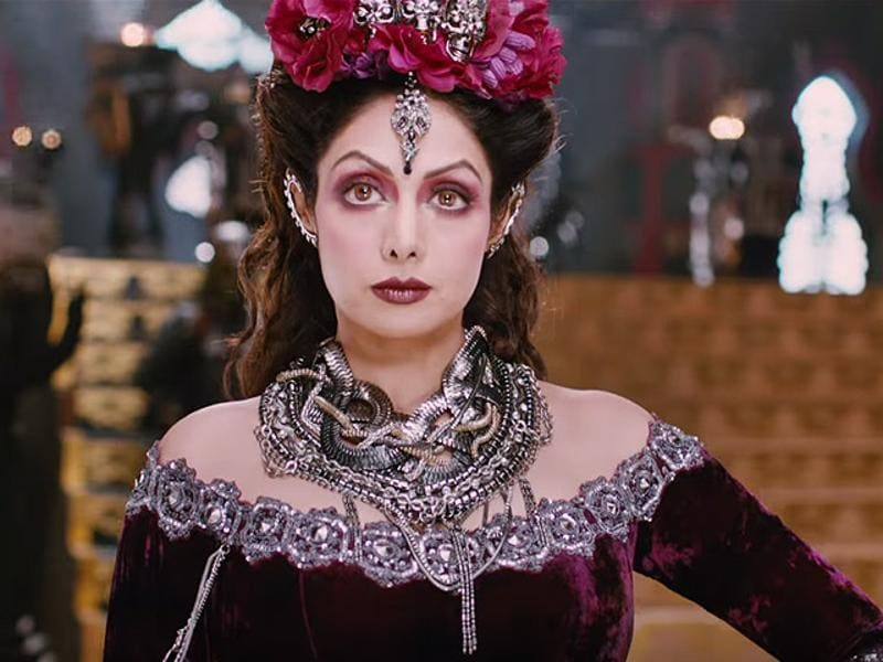 Sridevi plays a princess in Tamil film Puli that hit theatres on Thursday, October 1. (YOUTUBE)