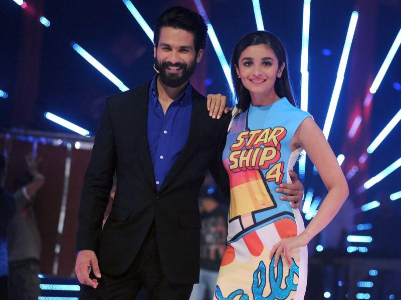 Alia and Shahid's Shandaar will hit theatres next Friday. (AFP)