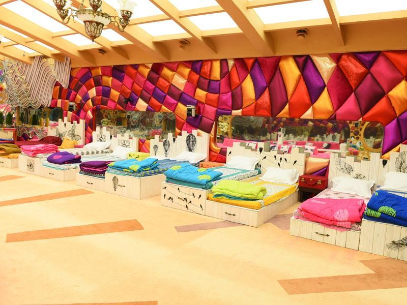 A wider, more spacious bedroom has been created for season 9 of Bigg Boss. (Colors)