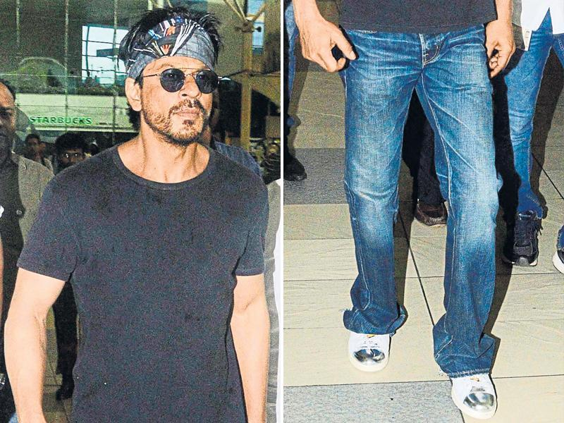 King Khan too. Silver is the latest trend, y'all.  (YOGEN SHAH/HT)