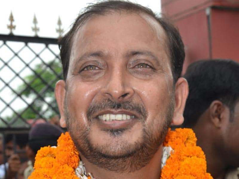 Akhtarul Islam Sahin is the sitting RJD MLA contesting from Samastipur assembly seat against Renu Kushwaha. (HT Photo)