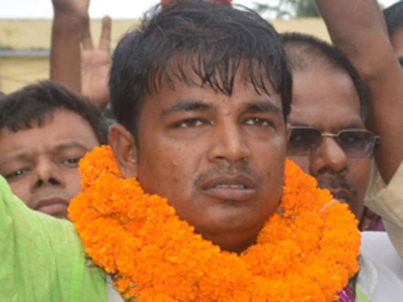 Chandan Kumar is contesting from Alauli as the RJD candidate against LJP's Pashupati Kumar Paras. (HT Photo)