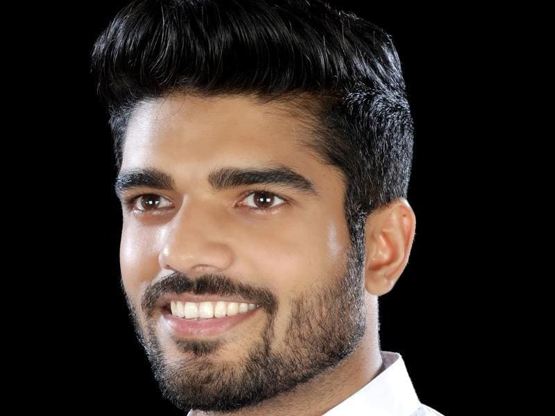 Prince Raj, LJP MP Ram Chandra Paswan's son and also LJP chief Ram Vilas Paswan's nephew, is making his electoral debut from Kalyanpur seat . (HT Photo)