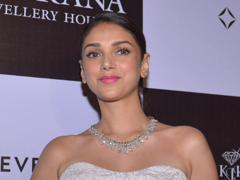 Bollywood actor Aditi Rao Hydari attends a promotional event for a jeweller in Amritsar. (AFP)