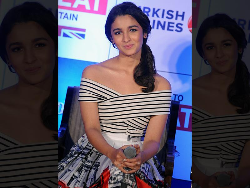 Alia Bhatt can be seen in Shaandaar on 22 October.  (AFP)