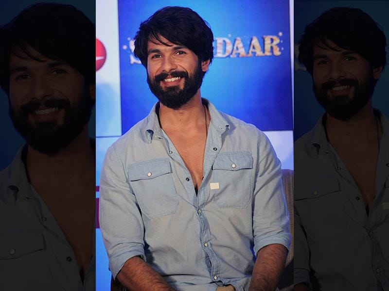 Shahid Kapoor will star in Shaandaar, a rom-com film directed by Queen director Vikas Bahl. (AFP)