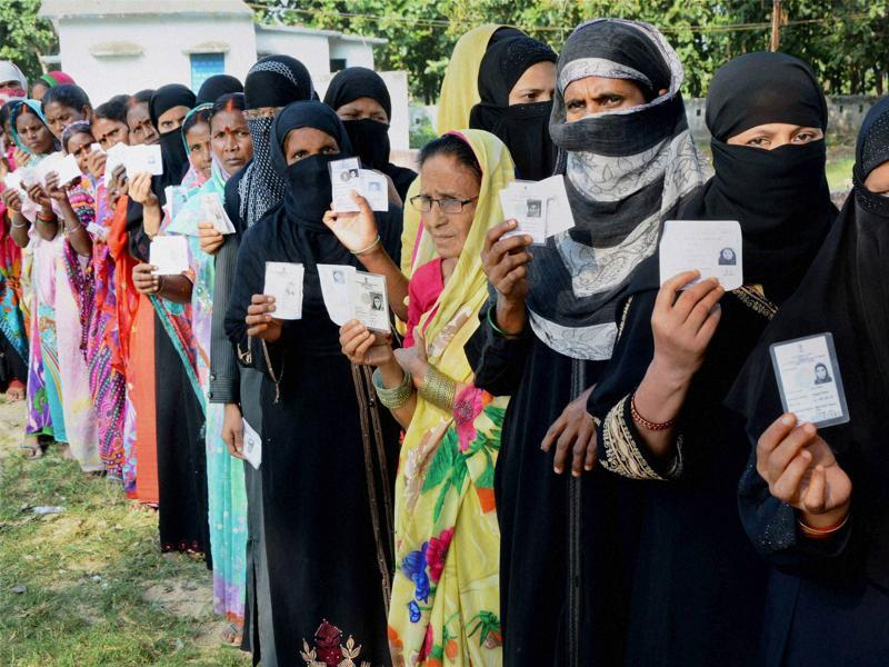 Voting is expected to end at 3pm in 11 constituencies and at 4pm in 12 others.  (PTI Photo)