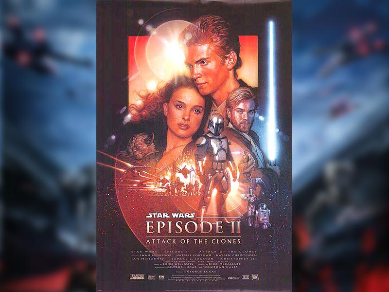 Star Wars Episode II: Attack of the Clones (2002) directed by George Lucas. (Lucasfilm)