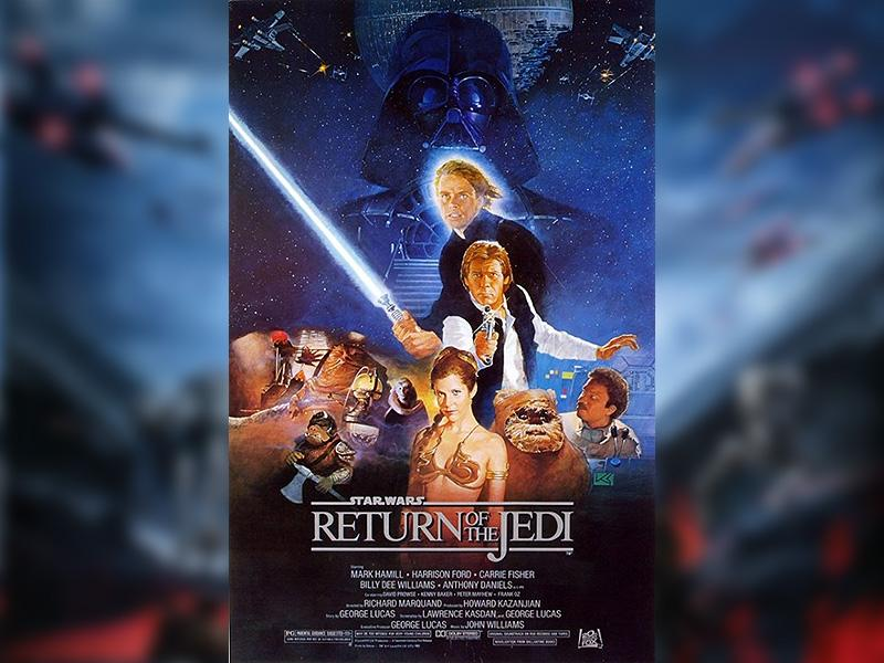 The Return of the Jedi (1983) directed by Richard Marquand. (Lucasfilm)