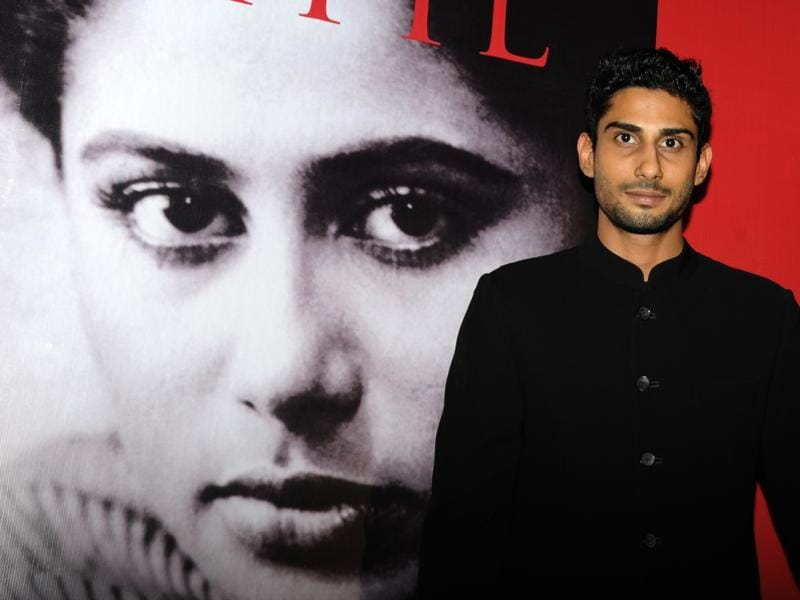 Prateik Babbar attends the 60th birth anniversary and book launch of mother Smita Patil's biography, Smita Patil A Brief Incandescence by Maithili Rao . (AFP)
