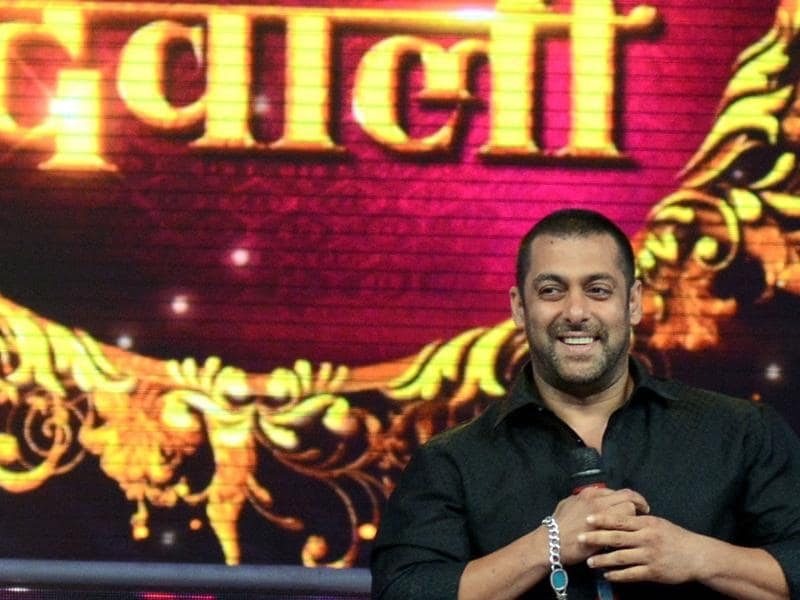 It will be Prem ki Diwali: Salman Khan at a promotional event for Prem Ratan Dhan Payo in Mumbai late October 19, 2015.  (AFP)