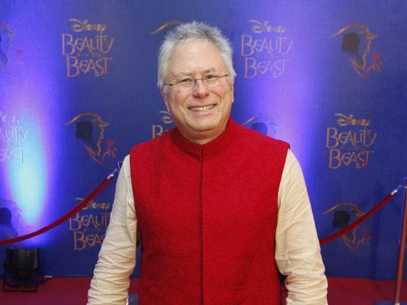 Alan Menken, American musical theatre and film composer, and pianist for the Beauty and the Beast at the premiere. (Solaris Images)