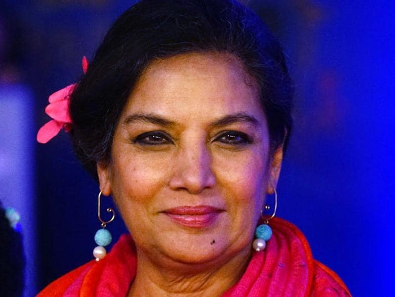 Veteran Bollywood actor Shabana Azmi attended the musical's premiere. (Solaris Images)