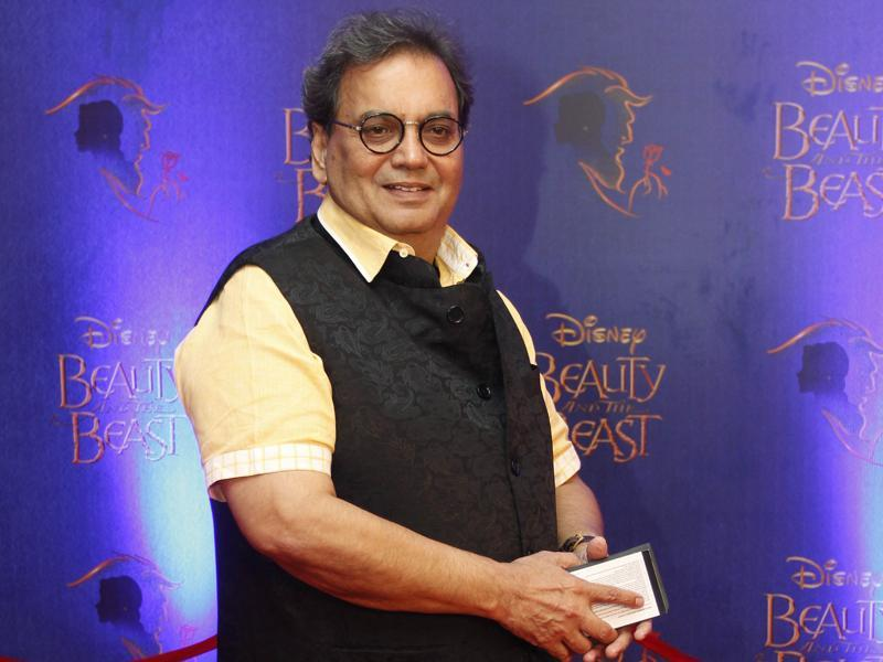 Filmmaker Subhash Ghai arrives to attend the premiere.  (Solaris Images)
