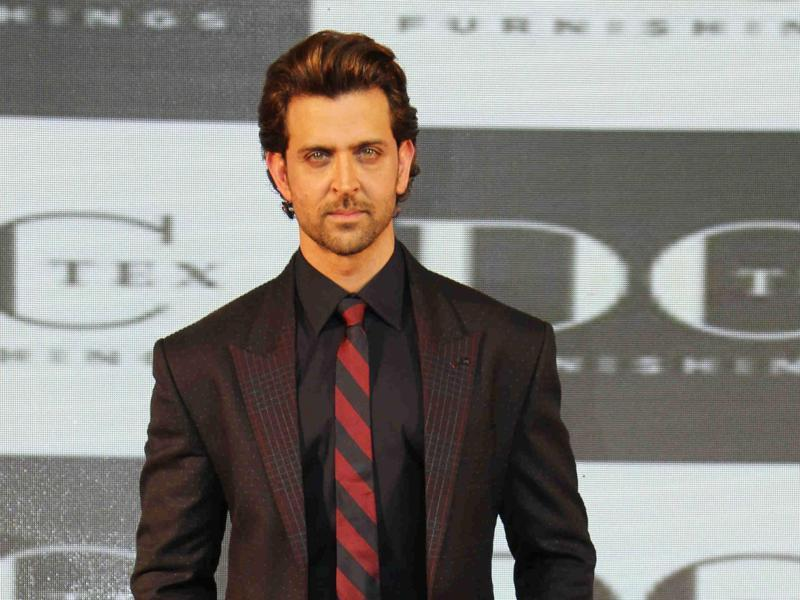 That's his corporate face guys! Hrithik Roshan poses during a corporate event in Mumbai on October 20, 2015.  (AFP)