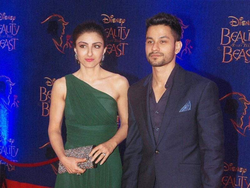 Actors and husband-wife pair  Soha Ali Khan and Kunal Khemu also must have had a romantic night out with the play. (PTI)