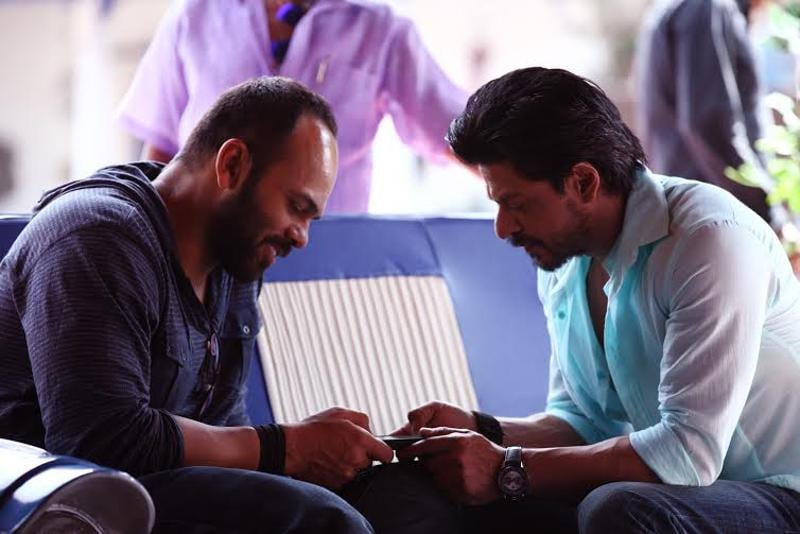 This is Rohit Shetty's second film with SRK after Chennai Express. (Red Chillies Entertainment)