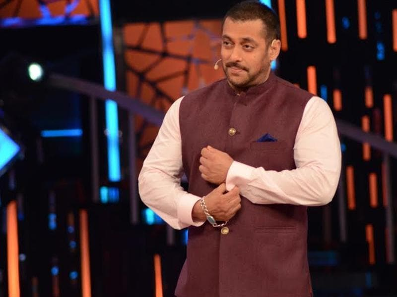 Salman Khan on the sets of Bigg Boss 9. (COLORS TV)