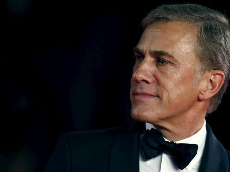 Christopher Waltz poses for photographers on the red carpet at the world premiere of the new James Bond 007 film Spectre. (REUTERS)