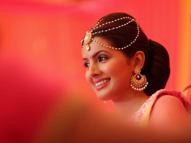 Geeta Basra is set to tie the knot with Harbhajan Singh on Thursday, October 29, 2015. (Image courtesy - Israni Photography)