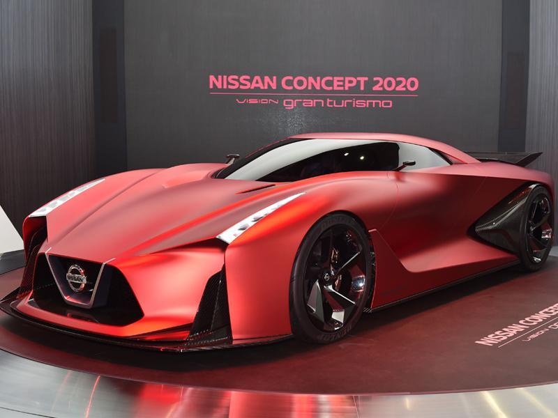 One of the most stylish revelations in the Tokyo Motor Show is Nissan Concept 2020 Vision Gran Turismo. The high performance hybrid is powered by a V6 twin turbo engine with a FR-4WD system, that eases clocking over 300kmph using the rear active wing. (AFP)