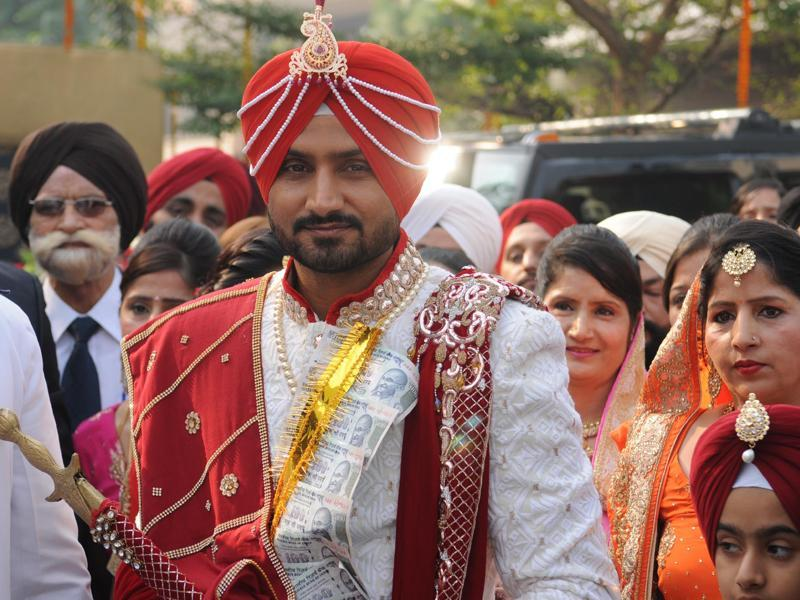 Harbhajan Singh got  (Pardeep Pandit/HT Photo)