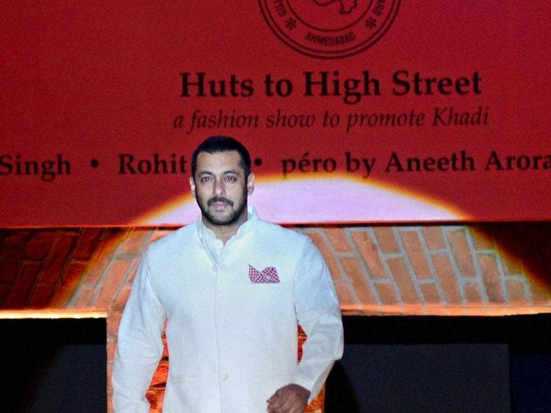 The show was organised in collaboration with the Gujarat State Khadi and Village Industries Board. (PTI)