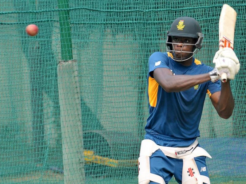 Kagiso Rabada of South Africa gears up for the upcoming test match in Mohali. (Gurpreet Singh/HT)