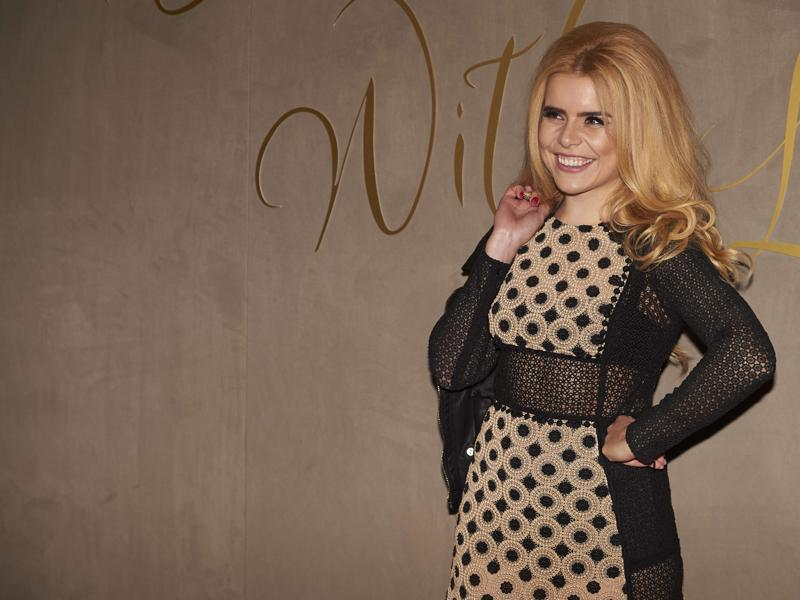 Jazz singer Paloma Faith arrives for the premiere of the Burberry festive film in London . (AFP)