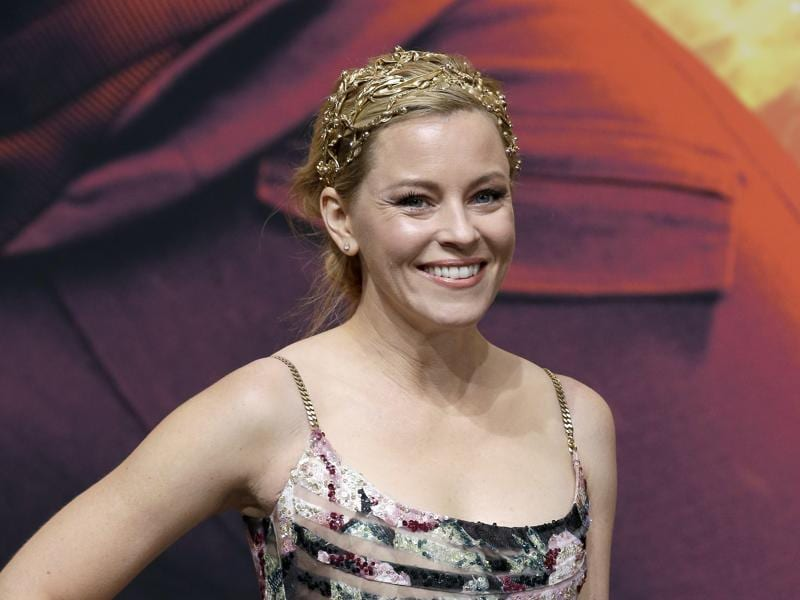 Elizabeth Banks who plays Effie Trinket at the World premiere of the movie The Hunger Games: Mockingjay - Part 2 in Berlin. (AP)