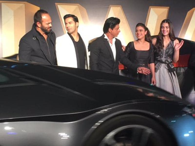 IN PICS: The glowing Dilwale, Shah Rukh Khan and Kajol ...
