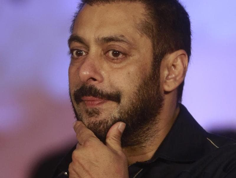 Are we not done yet with promotions? Salman Khan at a promotional event for Prem Ratan Dhan Payo in Mumbai on Wednesday, Nov. 11, 2015. The film is scheduled to be released on Nov. 12.  (AP)