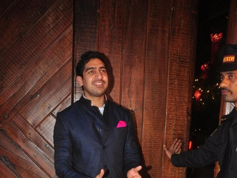 Filmmaker Ayan Mukerji arrives to attend the Diwali party at Bollywood icon Amitabh Bachchan`s residence on Nov 11, 2015.  (IANS)