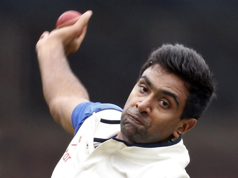 Ravichandran Ashwin during a practice session at M Chinnaswamy stadium, in Bengaluru.  (Ajay Aggarwal/ HT Photo)
