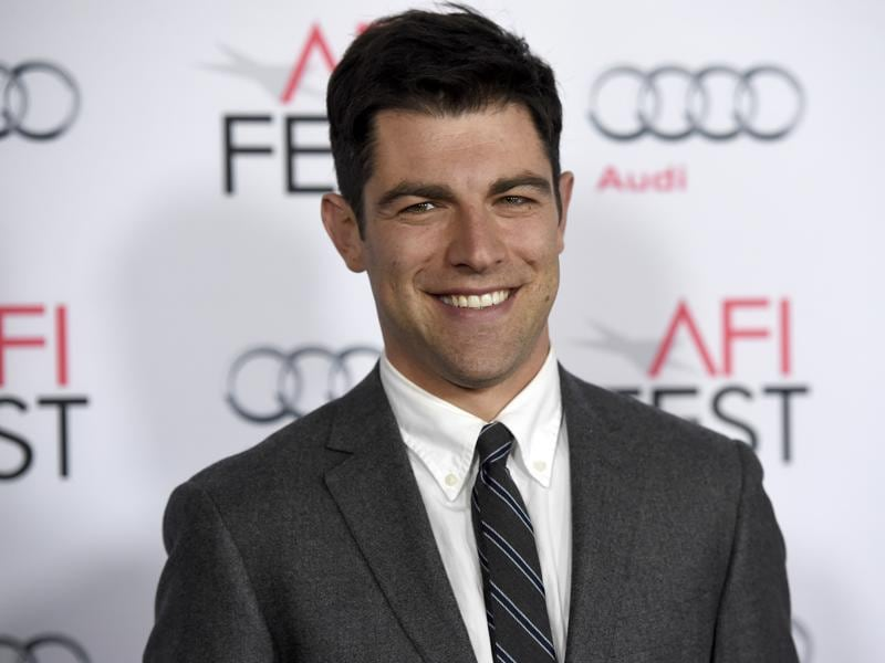 Max Greenfield from The New Girl arrives at the world premiere of The Big Short at the TCL Chinese Theatre. (AP)