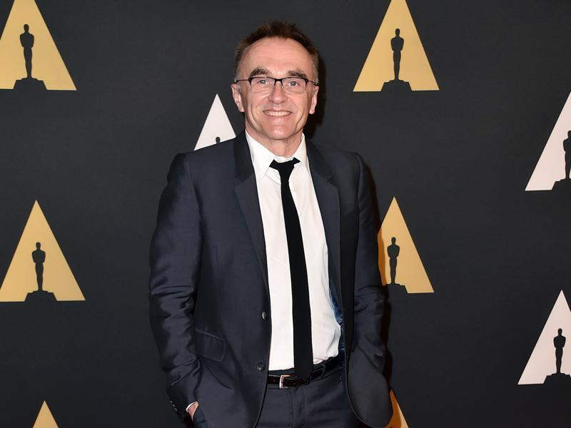 Danny Boyle, director of Steve Jobs, at the Governors Awards red carpet. (AP)