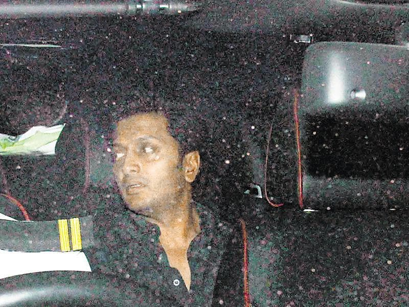 Ritiesh Deshmukh at Sania Mirza's birthday party. (Photo: Yogen Shah/HT)