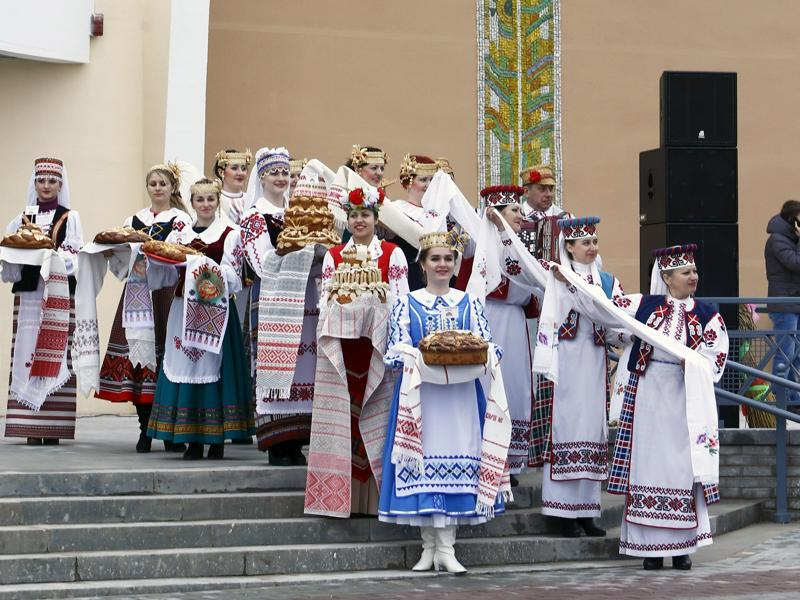 Belarus has been celebrating the festival since 1996. (REUTERS)